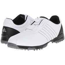 Adidas Men's 360 Traxion Boa Golf Shoes, 10.5 Medium White