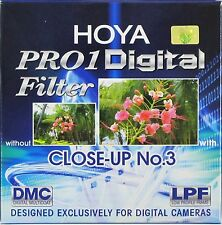 Hoya 55mm Pro1 Pro 1 Digital Close-up no. 3-Brand New Reino Unido Stock