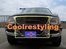 FOR 97 98 Ford F150 F-150 Expedition Billet Grille Combo inserts upper bumper
