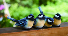 3rd Mini Resin Chickadee Bird Figurine (1 bird only)