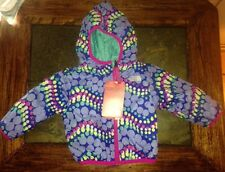 North Face Perrito Baby Girls Infant Reversible Winter Jacket Coat 3-6M NWT
