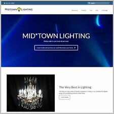 Fully Stocked Dropship HOME LIGHTING Website Business. 300 Hits A Day From Day 1