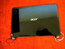 Acer Aspire One NAV50 Lid - LCD Back Cover w/WiFi Antenna & Microphone #81-87