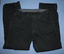 J Crew Mens Black Jeans Sz 33 x 30 Straight Slim Pants