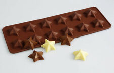 12 cell MAGIC STAR Stars Chocolate Box Candy Silicone Mould Cake Wax Melt Soap