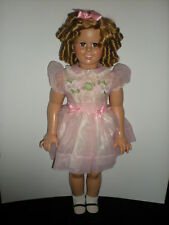 "Shirley Temple Doll Huge 33"" Playpal Lovee Doll in Box DANBURY Mint Twist Wrist"