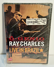Ray Charles - O Genio: Ray Charles Live in Brazil DVD NEW/SEALED