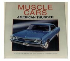 MUSCLE CARS-American Thunder--HUGE new hardcover book full of info/color photos