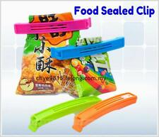 Set of 9 pcs Seal It Locking Clips for Food Packets Air Sealing Bags For Kitchen