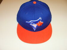 Toronto Blue Jays Custom New Era Cap Hat 7 1/4 59fifty MLB Baseball Orange Fit
