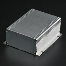 2x Extruded aluminum electronic power enclosure PCB instrument Box Case Project