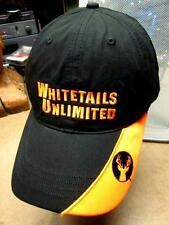WHITETAILS UNLIMITED baseball hat deer-hunting cap two-tone embroidery
