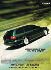 PUBLICITE  ADVERTISING  1998   VOLVO  V40 T4 1.9L TURBO