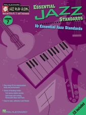 Essential Jazz Standards Jazz Play Along Book and CD NEW 000843000