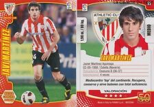 N°011 JAVI MARTINEZ ESPANA ATHLETIC CLUB BAYERN MEGACRACKS CARD PANINI LIGA 2012