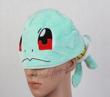 Pokemon Center Squirtle Warm Plush Hat Soft Cartoon Unisex Cosplay Hat