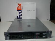 HP Proliant DL385 Server 2x Dual Core 2.4GHz AMD CPUs 2GB 2x72GB RAID