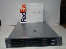 HP Proliant DL385 Server 2x Dual Core 2.4GHz AMD CPUs 2GB 2x72GB RAID