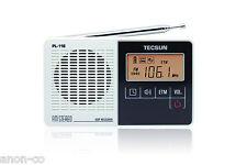 TECSUN PL-118 PLL DSP FM-Stereo Single Band Radio    WHITE COLOR
