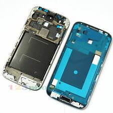 FRONT MIDDLE FRAME CHASSIS + BUTTON + HOUSING FOR SAMSUNG GALAXY S4 i9505 BLUE