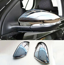 FIT FOR VW GOLF MK6 TOURAN DOOR SIDE WING MIRROR CHROME COVER CAP REAR VIEW TRIM