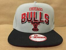 New Era 9Fifty Chicago Bulls Grade Block Snapback Gray/Red/Black OSFA NWT
