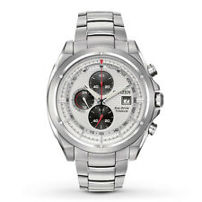 Citizen Eco-Drive Men's CA0550-87A Chronograph Titanium Bracelet Watch
