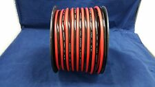 10 GAUGE PER 10 FT RED BLACK ZIP WIRE AWG CABLE POWER GROUND STRANDED COPPER CAR