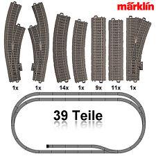 Märklin 29721-6 H0 C-Gleis Gleis-Set 39-teilig ++ NEU ++