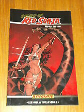 RED SONJA VOL 2 VS THULSA DOOM II SWORD OF DOOM OF THE GODS    9781933305769