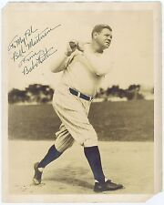 Babe Ruth Signed Vintage Yankees 8x10 Photo BOLD 9 MINT Autograph JSA Letter