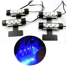 4pc Car SUV Charge Interior Accessories Atmosphere Lamp Floor Decorative Light
