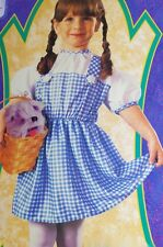 Baby Girl Infant Dorthy The Wizard of Oz Halloween Costume Size 1 2 NEW