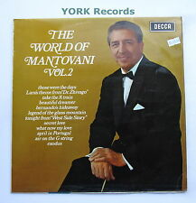 MANTOVANI - The World of Mantovani Vol 2 - Excellent Con LP Record Decca SPA 36