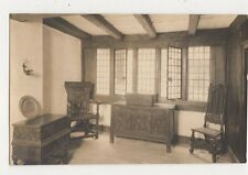 Elizabethan House Plymouth Front Room With Chest Plain Back RP Card  306a