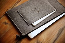 "NUOVO Macbook Pro 13 ""Retina Sleeve case-zip CON IPAD MINI POCKET And Burn Apple"