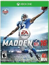 XBOX ONE XB1 GAME MADDEN NFL 16 BRAND NEW AND SEALED