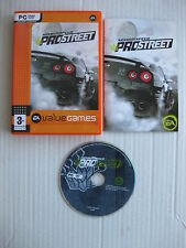 PC NEED FOR SPEED PROSTREET EN ESPAÑOL COMPLETO JUEGO PC