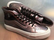 VANS New Sk8 Hi Cutout Slim Mesh Metallic Vault Lady size USA 7
