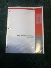 7-5411 - Is A New Parts Catalog For A CaseIH 8880 Windrower Tractor
