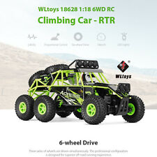 WLtoys 18628 1:18 6WD Off-road RC Climbing Car RTR Remote Control 6 wheel Buggy
