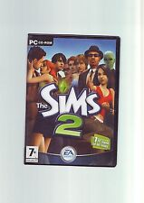 THE SIMS 2 - BASE PC GAME - FAST POST - ON 4 CD-ROMS - ORIGINAL & COMPLETE