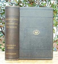 1880 FRANCES WADDINGTON BUNSEN BARONESS LIFE OF LETTERS ROME MONMOUTHSHIRE