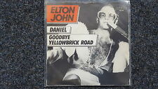 Elton John - Daniel/ Goodbye Yellowbrick Road 7'' Single