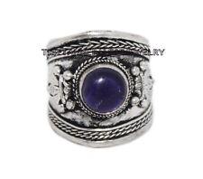 Adjustable Amethyst Ring Boho ring Nepal ring Tibetan ring Tibet Ring RB85