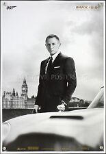EXCLUSIVE JAMES BOND SKYFALL & SPECTRE IMAX MOVIE POSTERS 13x19 Danial Craig