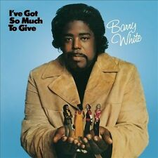 Barry White-I've Got So Much to Give CD NEW