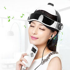 Electric head massager Wireless Infrared Helmet Pressure Acupuncture Massage NEW