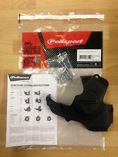 HONDA CRF 450 R 2011-2016 IGNITION COVER PROTECTOR GUARD BLACK