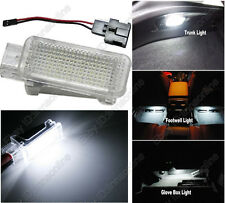 1pcs White LED Door Glove box Trunk Footwell Light For A6/S6 RS6 C5 C6 1998-2011